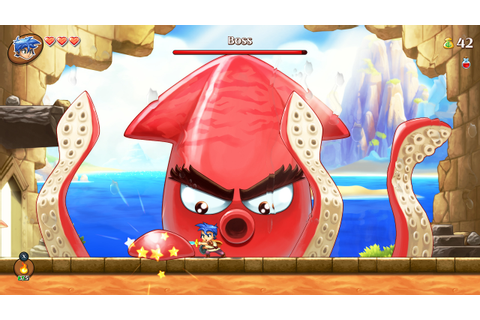 Monster Boy and the Cursed Kingdom Gets New Nintendo ...