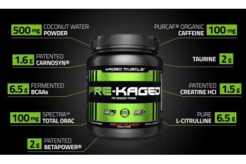 Pre-Kaged by Kaged Muscle: Lowest Prices at Muscle & Strength
