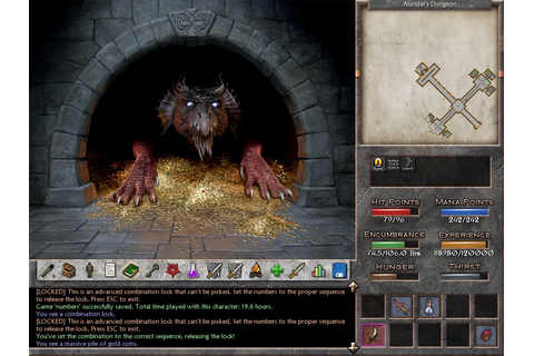 CRPG Revisiting old classics: Eschalon: Book III - Review