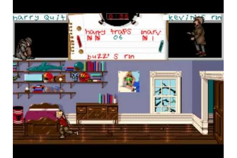 Home Alone (1991) MS-DOS PC Game Playthrough - YouTube