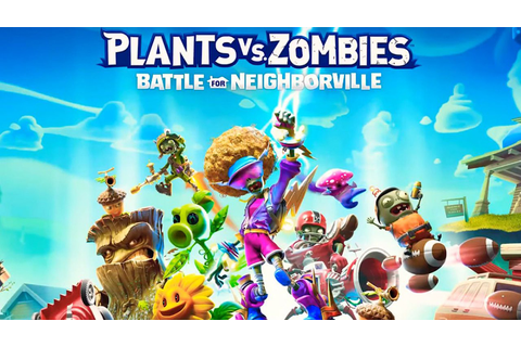 Plants vs. Zombies: Battle for Neighborville- L'annuncio ...