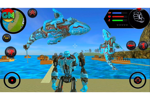Robot Shark #1 New Game | by Naxeex Corp | Android ...
