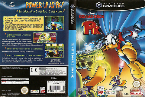 GDOP41 - Disney's Donald Duck PK