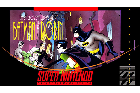 The Adventures of Batman & Robin [Super Nintendo] - YouTube