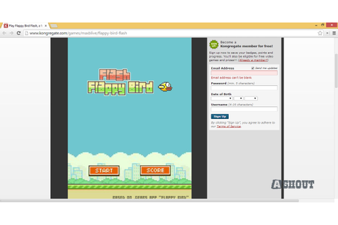 5 Places to Play Flappy Bird Game Online for Free - A Shout
