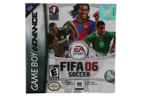 FIFA Soccer 06 GameBoy Advance Game EA - Newegg.com