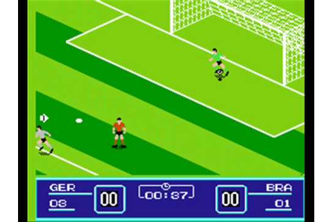 Goal!! / Goal 2 NES gameplay - YouTube
