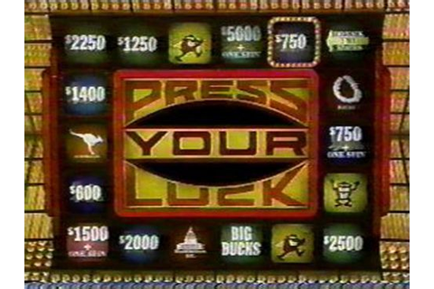Press Your Luck | Best of the 80s