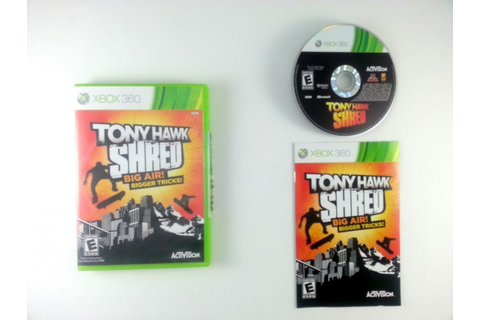 Tony Hawk: Shred game for Xbox 360 (Complete) | The Game Guy