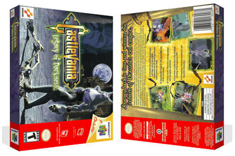 - Castlevania Legacy of Darkness N64 Replacement Game Case ...