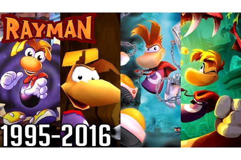 Rayman ALL INTROS 1995-2016 (PS4, Wii U, Xbox, PS2, PS1 ...