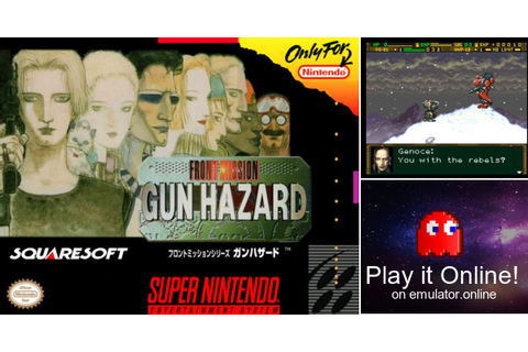 Play Front Mission: Gun Hazard (English) on Super Nintendo