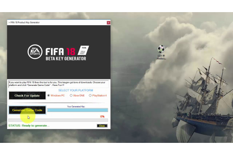 Official FIFA 18 Beta Key Generator - YouTube