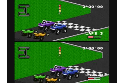 Gameplay - RPM Racing SNES - YouTube