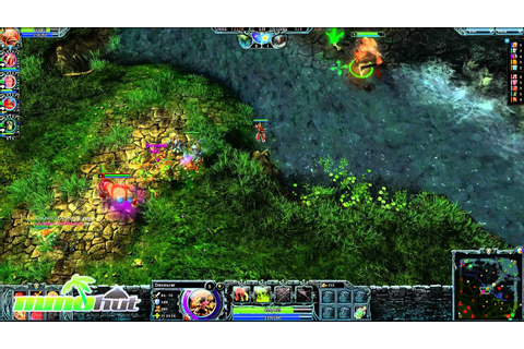 Heroes of Newerth Gameplay - First Look HD (Part 1/2 ...