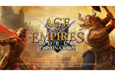 Age of Empires: World Domination Gameplay IOS / Android ...