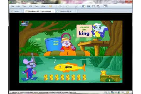 Reader Rabbit's Reading 2 (1997) Vowel Pond - Level 1 ...
