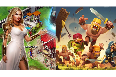 Clash of Clans vs. Game of War -- Which Is Better?