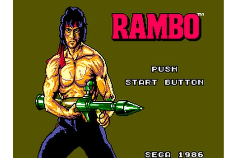 Master System Longplay [024] Rambo - First Blood Part 2 ...
