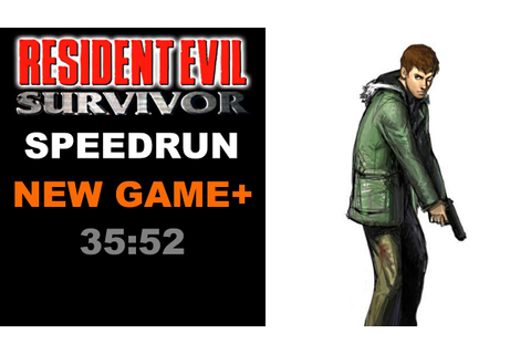 Resident Evil Survivor NG+ Speedrun 35:52 - YouTube
