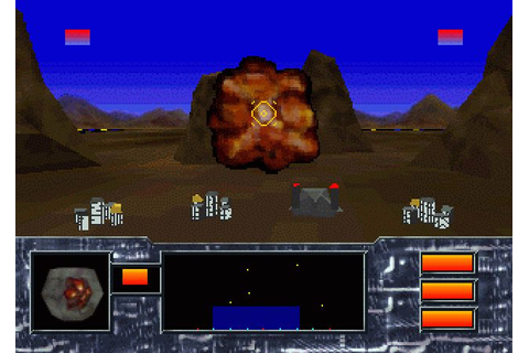 Missile Command 3D (1995) Jaguar game