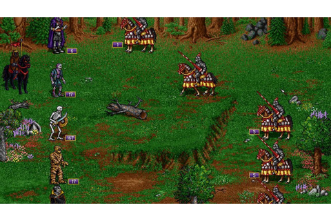 Игра Heroes of Might and Magic 2: The Succession Wars ...