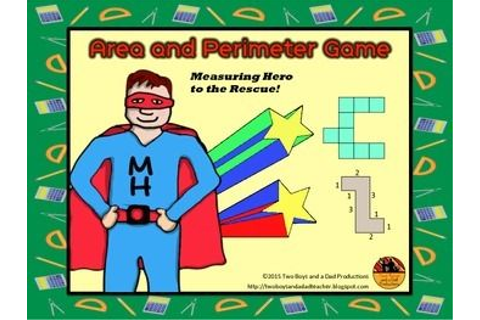 25+ best ideas about Area And Perimeter Games on Pinterest ...