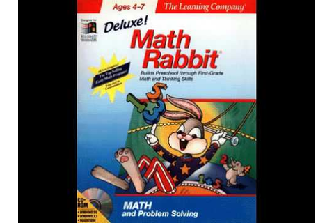 Math Rabbit Deluxe! (1993, CD-ROM game) - YouTube
