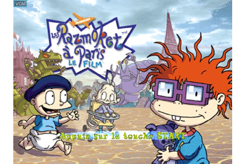 Nickelodeon Rugrats in Paris - The Movie for Sony ...