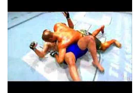 UFC Ultimate Fighting Championship 2007 Video Game Trailer ...