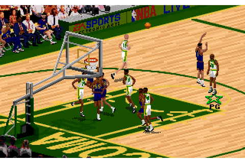 NBA Live 95 (1995) by Hitmen Productions MS-DOS game