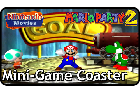 Mario Party 2 - Mini-Game Coaster (Hard) - YouTube