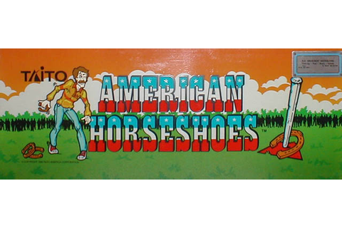American Horseshoes - Videogame by Taito