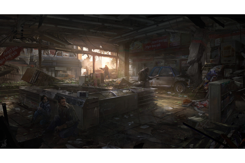 The Last Of Us, Concept Art, Video Games Wallpapers HD ...