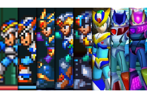 Evolution of X Armors in Mega Man X Games - YouTube
