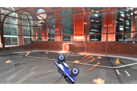 Supersonic Acrobatic Rocket-Powered Battle-Cars Gameplay ...