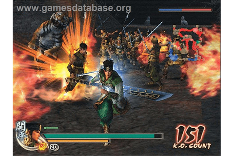 Dynasty Warriors 5 - Microsoft Xbox - Games Database
