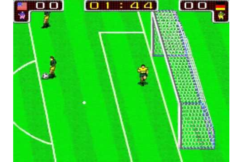Tecmo World Cup 90 set 1 MAME Gameplay video Snapshot -Rom ...
