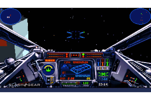 X-Wing Special Edition gameplay for review (1993 / 2014 ...