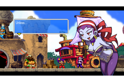 Indie Retro News: Shantae and the Pirates Curse - Top ...