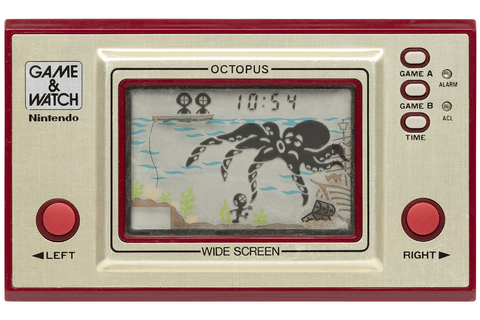GAME & WATCH OCTOPUS, la maquinita del pulpo | KrakenByte ...