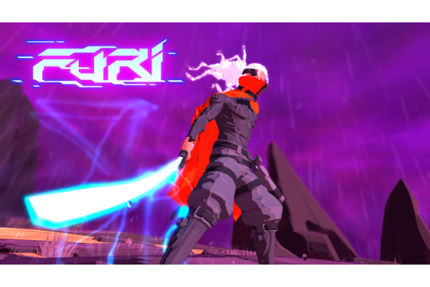 Furi Gameplay - First Boss - YouTube