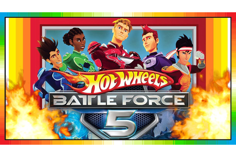 Hot Wheels - Battle Force 5 - Cars (Videogame - Gameplay ...