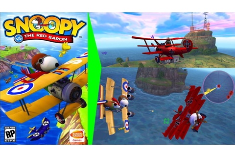 Snoopy vs. the Red Baron Gameplay - 3 Dog Fights PS2 HD ...