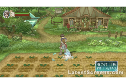 All Rune Factory: Frontier Screenshots for Wii