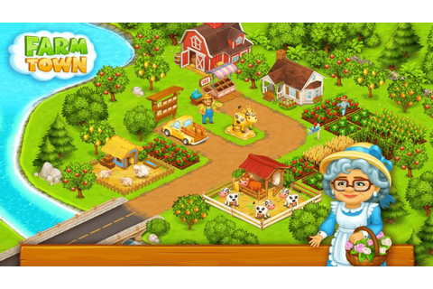 Farm Town: Happy farming Day & with farm game City Android ...