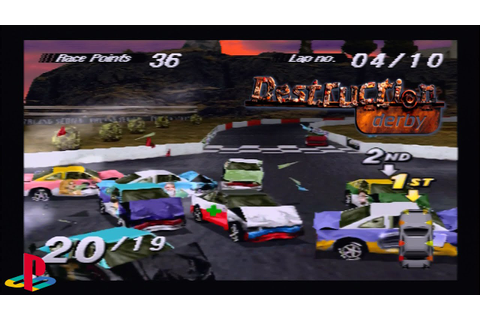99 Points! Crossover | Pro | Destruction Derby, Wrecking ...