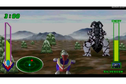 Ultraman Tiga & Ultraman Dyna:New Generations PS1 (Part 7 ...