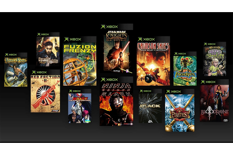 Original Xbox games backwards compatibility list ...