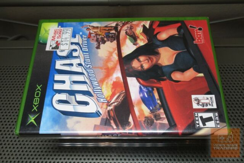 Chase: Hollywood Stunt Driver (Xbox 2002) FACTORY SEALED ...